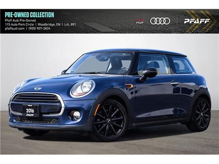 2016 MINI 3 Door Cooper (Stk: C8055A) in Woodbridge - Image 1 of 22