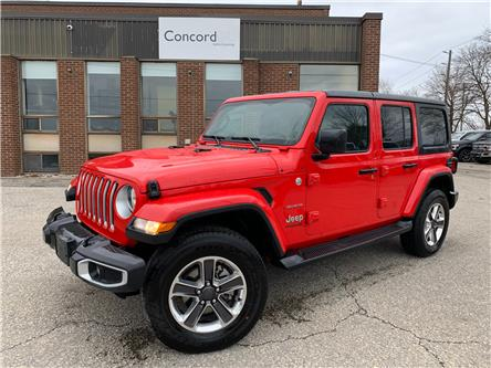 2021 Jeep Wrangler Unlimited Sahara (Stk: C5589) in Concord - Image 1 of 5