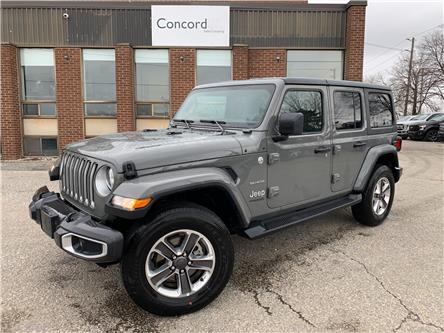 2021 Jeep Wrangler Unlimited Sahara (Stk: C5603) in Concord - Image 1 of 5