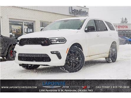 2021 Dodge Durango SXT (Stk: 21010) in Pembroke - Image 1 of 30