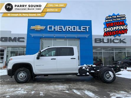2021 Chevrolet Silverado 3500HD Chassis Work Truck (Stk: 21-090) in Parry Sound - Image 1 of 17