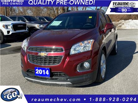 2014 Chevrolet Trax LTZ (Stk: 20-0705B) in LaSalle - Image 1 of 23