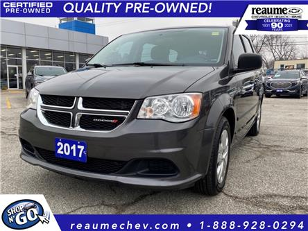 2017 Dodge Grand Caravan CVP/SXT (Stk: 21-0116A) in LaSalle - Image 1 of 25