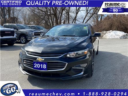 2018 Chevrolet Malibu LT (Stk: 21-0295A) in LaSalle - Image 1 of 22