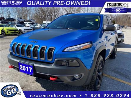 2017 Jeep Cherokee Trailhawk (Stk: L-4455A) in LaSalle - Image 1 of 23