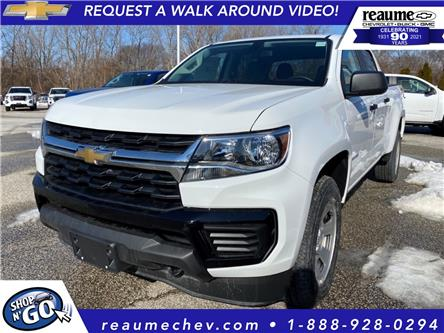2021 Chevrolet Colorado WT (Stk: 21-0329) in LaSalle - Image 1 of 6