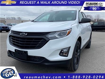 2021 Chevrolet Equinox LT (Stk: 21-0182) in LaSalle - Image 1 of 9