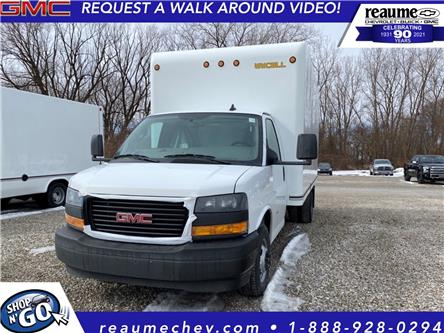 2021 GMC Savana Cutaway Work Van (Stk: 21-0404) in LaSalle - Image 1 of 5