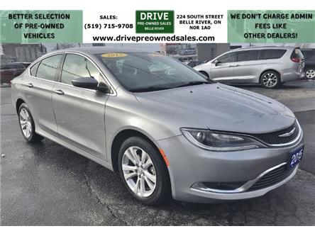 2015 Chrysler 200 Limited (Stk: D0340) in Belle River - Image 1 of 13