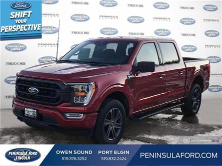 2021 Ford F-150 XLT (Stk: 21FE16) in Owen Sound - Image 1 of 24