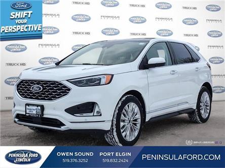 2021 Ford Edge Titanium (Stk: 21ED01) in Owen Sound - Image 1 of 24