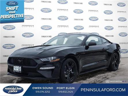 2021 Ford Mustang EcoBoost (Stk: 21MU03) in Owen Sound - Image 1 of 25