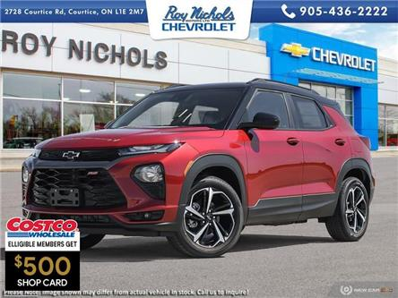 2021 Chevrolet TrailBlazer RS (Stk: X242) in Courtice - Image 1 of 22