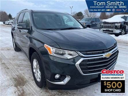 2021 Chevrolet Traverse LT Cloth (Stk: 210175) in Midland - Image 1 of 8