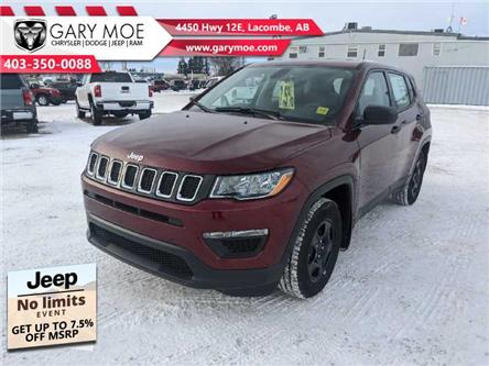 2021 Jeep Compass Sport (Stk: F212502) in Lacombe - Image 1 of 17