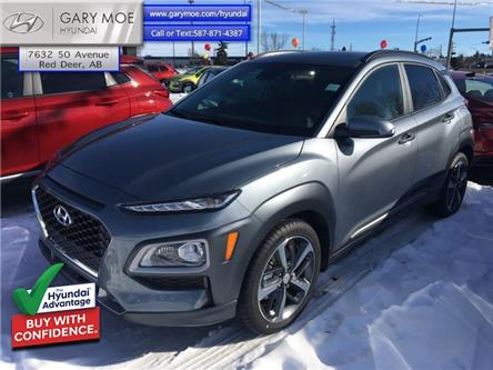 2021 Hyundai Kona 1.6T Ultimate AWD (Stk: 1KN4309) in Red Deer - Image 1 of 3