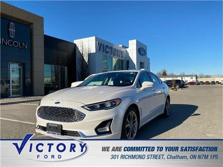 2020 Ford Fusion Hybrid Titanium (Stk: V0102R) in Chatham - Image 1 of 22