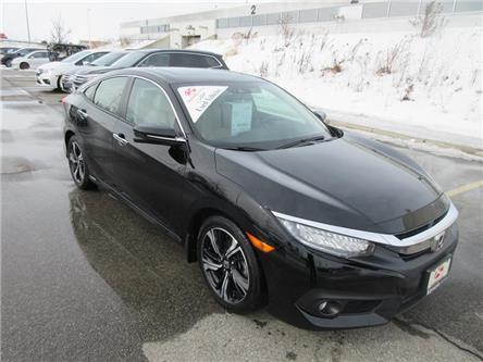 2018 Honda Civic Touring (Stk: K15281A) in Ottawa - Image 1 of 17