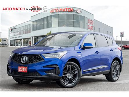 2019 Acura RDX A-Spec (Stk: U1638) in Barrie - Image 1 of 24