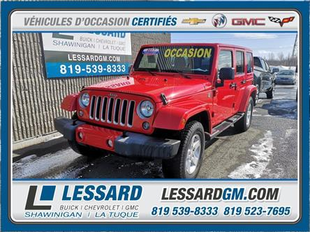 2017 Jeep Wrangler Unlimited Sahara (Stk: 21-143AS) in Shawinigan - Image 1 of 18