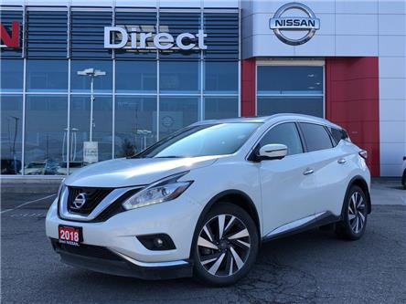 2018 Nissan Murano PLATINUM | CERTIFIED PRE-OWNED (Stk: N4570A) in Mississauga - Image 1 of 15
