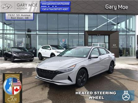 2021 Hyundai Elantra Preferred w/Sun & Tech Package IVT (Stk: 1EL3549) in Red Deer - Image 1 of 11