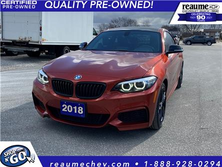 2018 BMW M240i xDrive (Stk: 21-0363A) in LaSalle - Image 1 of 18
