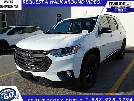 2021 Chevrolet Traverse Premier (Stk: 21-0370) in LaSalle - Image 1 of 6