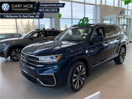 2021 Volkswagen Atlas Execline 3.6 FSI (Stk: 1AT7644) in Red Deer County - Image 1 of 8
