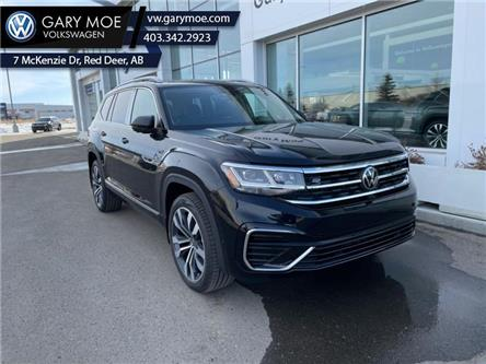 2021 Volkswagen Atlas Execline 3.6 FSI (Stk: 1AT8519) in Red Deer County - Image 1 of 8