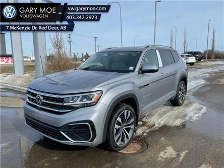 2021 Volkswagen Atlas Execline 3.6 FSI (Stk: 1AT8980) in Red Deer County - Image 1 of 8