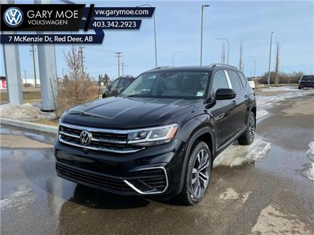 2021 Volkswagen Atlas Execline 3.6 FSI (Stk: 1AT9442) in Red Deer County - Image 1 of 8