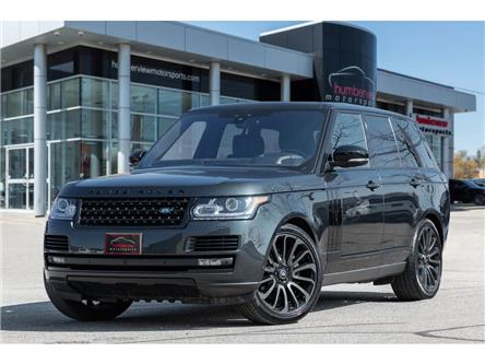 2017 Land Rover Range Rover 5.0L V8 Supercharged (Stk: 21HMS141) in Mississauga - Image 1 of 26
