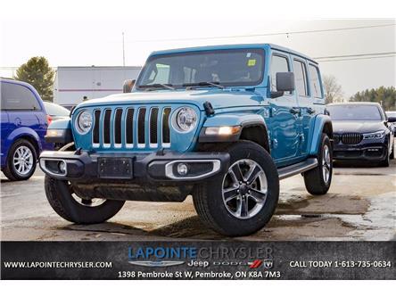 2020 Jeep Wrangler Unlimited Sahara (Stk: P3620) in Pembroke - Image 1 of 11