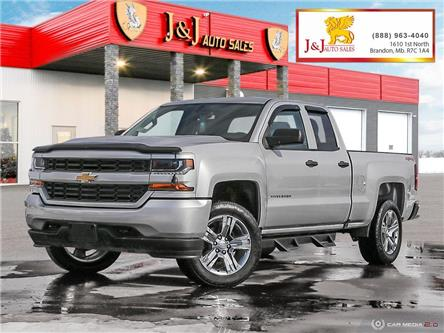 2017 Chevrolet Silverado 1500 Silverado Custom (Stk: J21016-1) in Brandon - Image 1 of 27