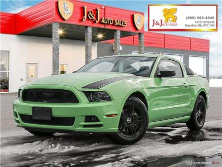 2013 Ford Mustang V6 (Stk: J2118-1) in Brandon - Image 1 of 27