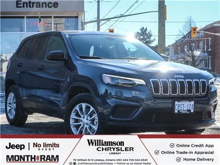 2021 Jeep Cherokee Sport (Stk: 017-21D) in Lindsay - Image 1 of 22