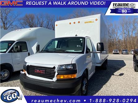 2021 GMC Savana Cutaway Work Van (Stk: 21-0412) in LaSalle - Image 1 of 5