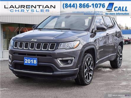 2018 Jeep Compass Limited (Stk: 21157A) in Sudbury - Image 1 of 27