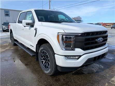2021 Ford F-150 Lariat (Stk: 21114) in Wilkie - Image 1 of 26