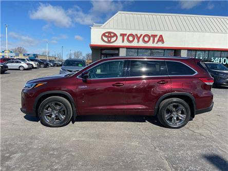 2018 Toyota Highlander Hybrid  (Stk: 2103731) in Cambridge - Image 1 of 20