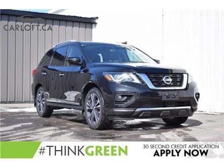 2017 Nissan Pathfinder Platinum (Stk: UCP2383) in Kingston - Image 1 of 29