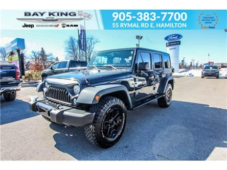 2017 Jeep Wrangler Unlimited  (Stk: 46676815A) in Hamilton - Image 1 of 29