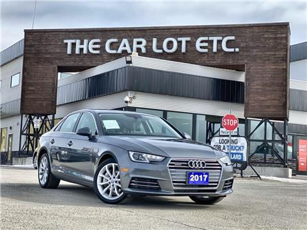 2017 Audi A4 2.0T Progressiv (Stk: 21045) in Sudbury - Image 1 of 30