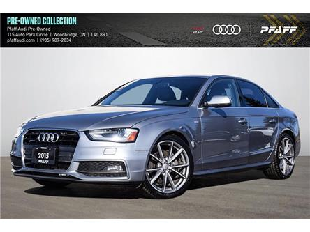 2015 Audi A4 2.0T Progressiv (Stk: C8148A) in Woodbridge - Image 1 of 20