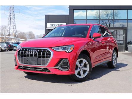 2019 Audi Q3 2.0T Progressiv (Stk: P2066) in Ottawa - Image 1 of 28