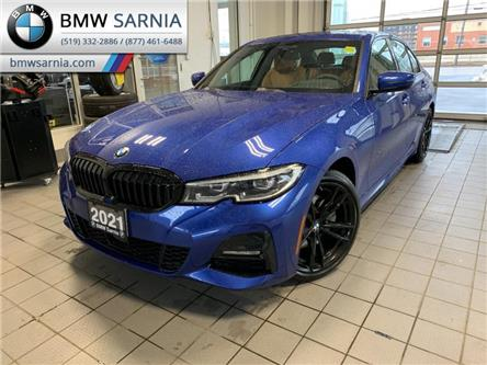 2021 BMW 330i xDrive (Stk: B2114) in Sarnia - Image 1 of 10
