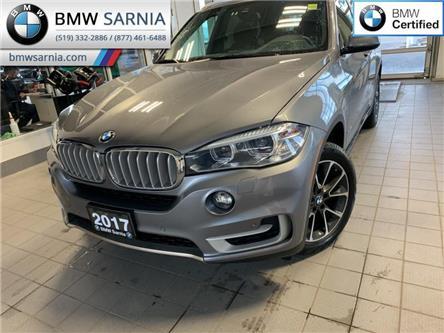 2017 BMW X5 xDrive35i (Stk: XU396) in Sarnia - Image 1 of 10