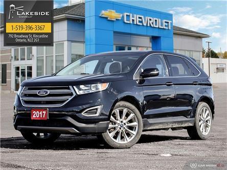 2017 Ford Edge Titanium (Stk: G0184A) in Kincardine - Image 1 of 6