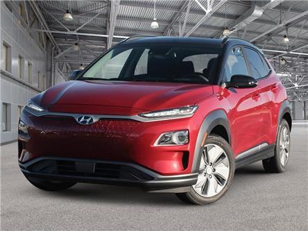 2021 Hyundai Kona EV Preferred w/Two Tone (Stk: KA21014) in Woodstock - Image 1 of 23